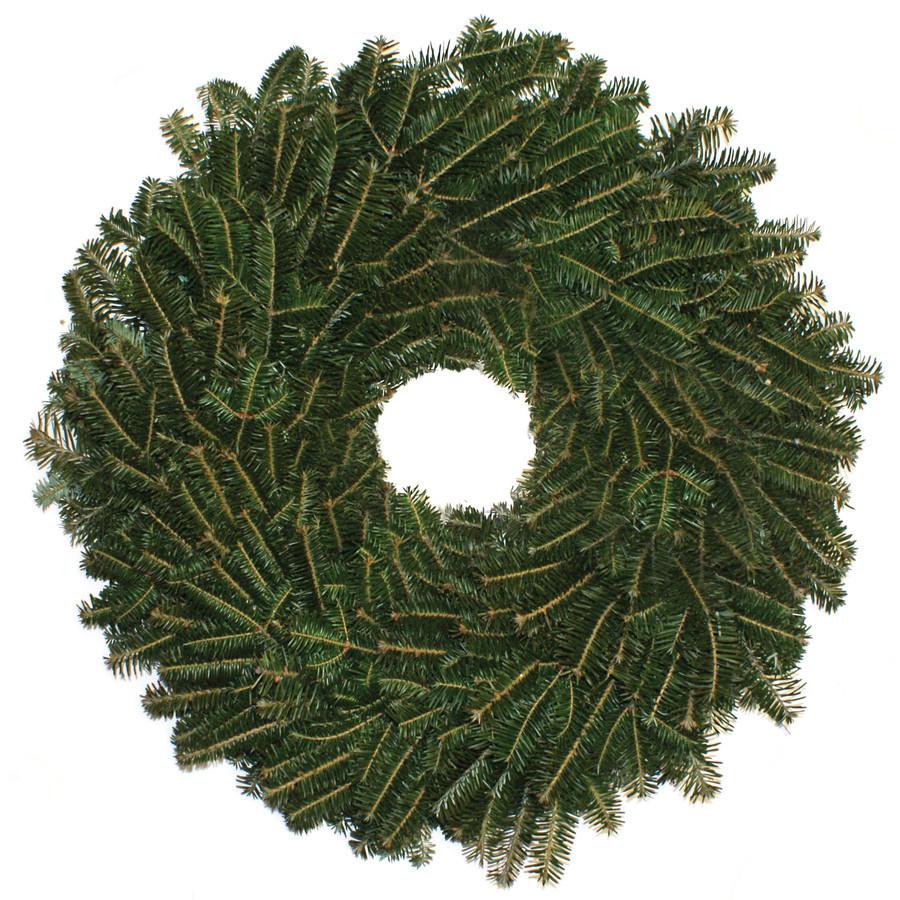 22-in Fresh Fraser Fir Christmas Wreath