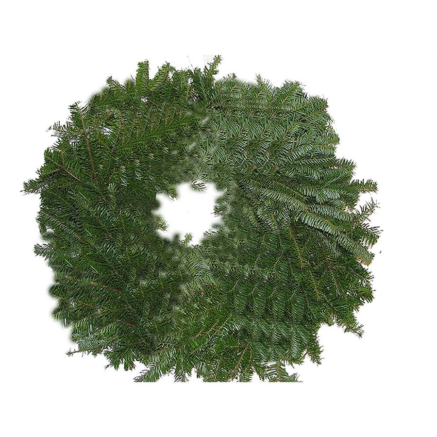 36-in Fresh Balsam Fir Christmas Wreath