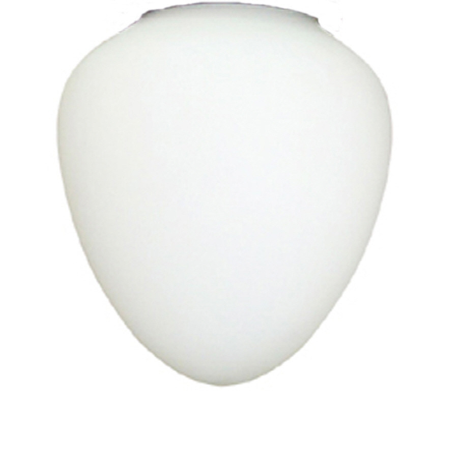 5-in H 5-in W Frost Acorn Ceiling Fan Light Shade