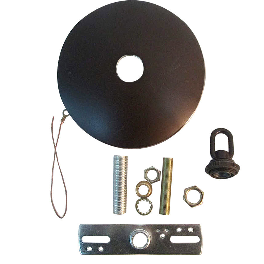 5-in L x 5-in dia Bronze Light Cap and Finial Kit