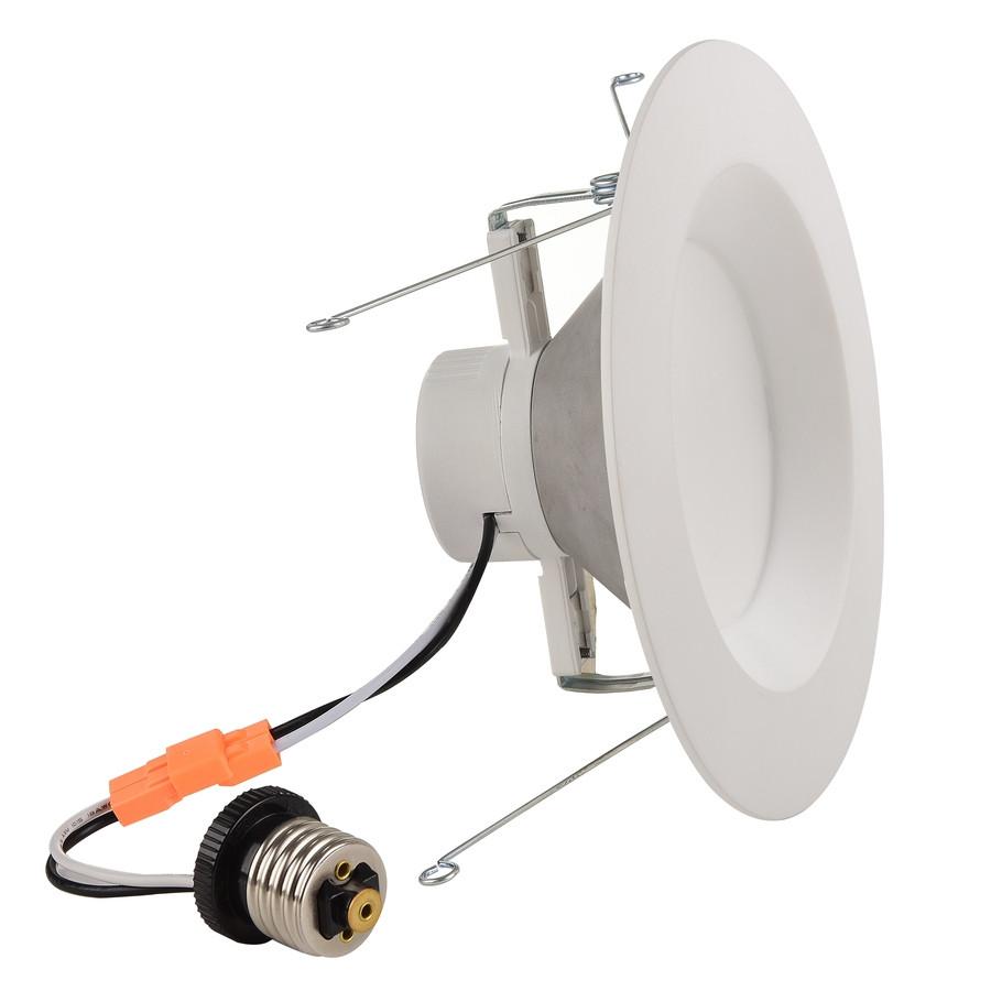 65-Watt Equivalent White LED Recessed Retrofit Downlight (Fits Housing Diameter: 5-in or 6-in)