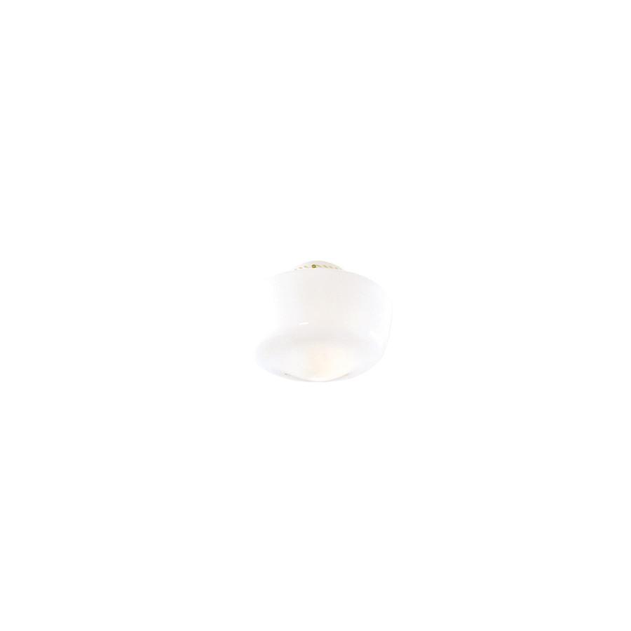 7-in H 10-in W White Opal Schoolhouse Ceiling Fan Light Shade
