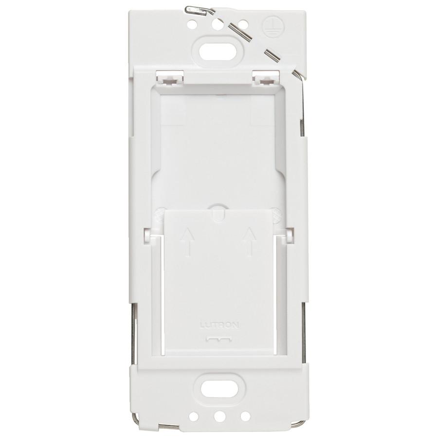 Caseta Wireless White Wallplate Bracket