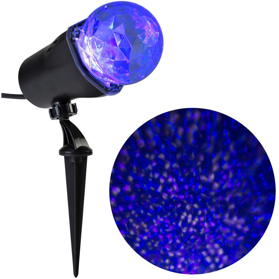 LightShow Swirling Multicolor LED Multi-Design Christmas Spotlight Projector