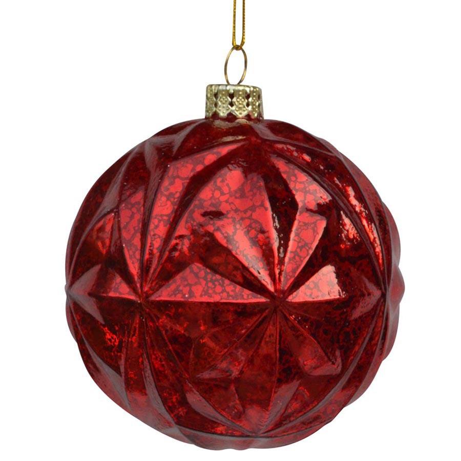 Red Ornament Set