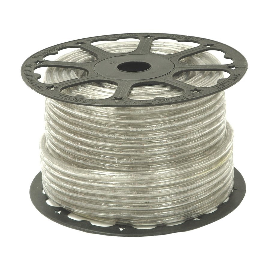 Wide Loyal Clear Incandescent Rope Light (Actual: 300-ft)