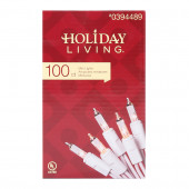 100-Count 20.62-ft White Mini Copper Wire String Plug-in Christmas String Lights
