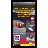 100-Pack Plastic Gutter/Shingle Clips