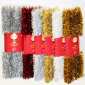 1.5-in x 20-ft Tinsel Artificial Christmas Garland
