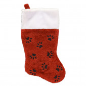 16-in Red Pet Christmas Stocking