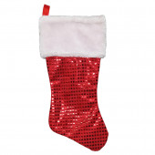 16-in Red Traditional Christmas Stocking