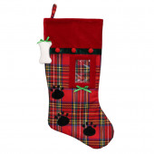 19-in Pet Christmas Stocking