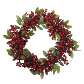 22-in Artificial Christmas Wreath