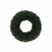24-in Indoor/Outdoor Monroe Pine Artificial Christmas Wreath