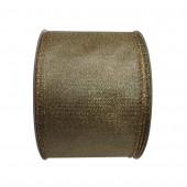 2.5-in W x 30-ft L Gold Metallic Ribbon