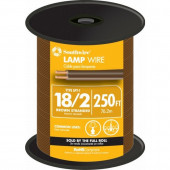 250-ft 18-AWG 2-Conductor Brown Lamp Cord