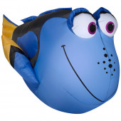 2.95-ft x 2.23-ft Lighted Dory Christmas Inflatable