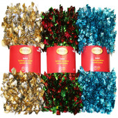 3-in x 12-ft Tinsel Artificial Christmas Garland