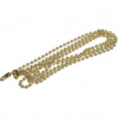 3-Pack Brass Plated Metal Pull Chains
