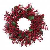 30-in Berry Artificial Christmas Wreath