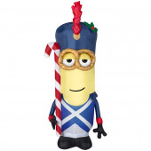 3.51-ft x 1.31-ft Lighted Minion Christmas Inflatable