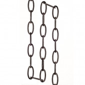 36-in Bronze Hanging Light Chain