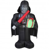 6-ft x 2.29-ft Lighted Star Wars Darth Vader Christmas Inflatable