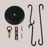 6-in Dark Bronze Hanging Light Mounting Kit