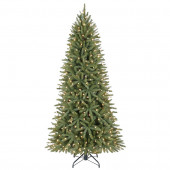 6.5-ft Pre-Lit Walden Pine Artificial Christmas Tree with White Clear Incandescent Lights
