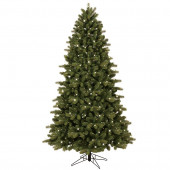 7-ft Pre-Lit Colorado Spruce Artificial Christmas Tree with White Clear Incandescent Lights