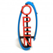 9-in Multi-Function LED Open Neon Sign