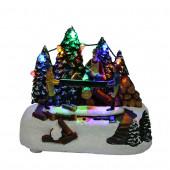 Animatronic Lighted Musical Anthony's Christmas Shop