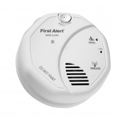 Battery-Powered 3-Volt Smoke Detector (Works With Iris)