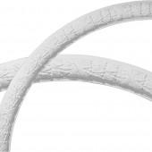 Dublin Leaves 3-in x 50-in Quarter Polyurethane Ceiling Ring