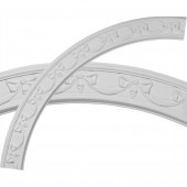 Federal 4.325-in x 63-in Quarter Polyurethane Ceiling Ring