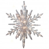 Random Sparkle 108-Count Sparkling White Mini Incandescent Plug-in Christmas Icicle Lights